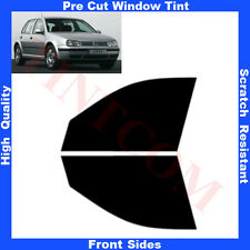 Pre Cut Window Tint VW Golf IV 5 Doors Hatchback 1999-2003 Front Sides Any Shade