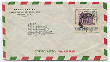 MEXICO, AIR MAIL (1948), STAMP UN PESO CORREO AEREO RECONSTRUCCION TEATRO     m