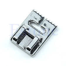1PC Sewing Machines 9 Grooves Presser Pin Tuck Foot For Brother Elna Janome