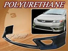 FOR 06-08 HONDA CIVIC 2 DOOR 2DR COUPE FRONT BUMPER LIP BODY SPOILER KIT PU