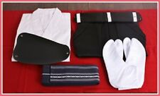 Kyudo Japanese archery UNIFORM SET Kyudogi & Hakama & Muneate & Obi & Tabi Women
