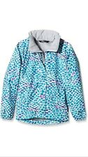The North Face Girl's Resolve Jacket - Blue/Bluebird Pebble Print Age 5 Years
