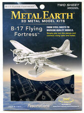Metal Earth B17 FLYING FORTRESS 3D Puzzle Micro Model
