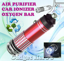 New Mini Car Auto Ionizer Fresh Air Purifier Oxygen Ozone Bar Cleaner Deodorant