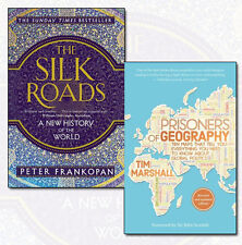 Prisoners of Geography, The Silk Roads Collection 2 Books Set Pack NEW