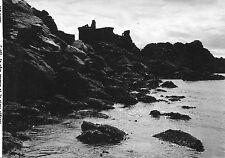 Alte Postkarte - La côte sauvage et le vieux château