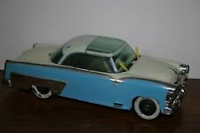 VINTAGE 1950S IRWIN FRICTION FORD CROWN VICTORIA WITH MOVEABLE WINDSHIELD WIPERS
