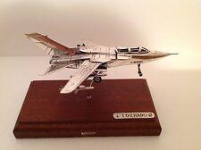 RARE  SACCHETTI Sterling silver TORNADO plane  - English  Hallmark for 2005