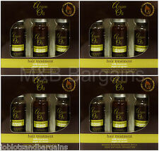 XHC Moroccan Argan Oil Extract Hair Treatment Shots (12 x 12ml) Intensive Repair