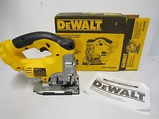 DEWALT DC330B 18v Cordless Jig Saw Keyless blade change with FULL WARRANTY!!!!!!