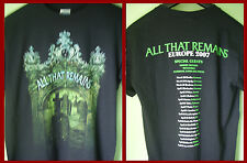 ALL THAT REMAINS - TOUR T-SHIRT (S)  BNWOT