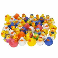 Lot of 50 Assorted Rubber Ducks [Toy], New, Free Shipping