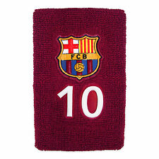 FC barcelone officiel football cadeau 1 Pack n ° 10 messi tissu bracelet