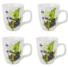bicchiere caffè Coppa 4 Pezzi Tazze Porcellana da Profumo di primavera 400 ml