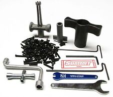 Summit SCREWS & TOOLS Set (SCREWS hardware hex Plastic Wrench Traxxas 5607