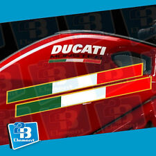 Fit For Ducati Monster S2R 796 795 821 1200 Tricolore Side Fairing Decal Sticker