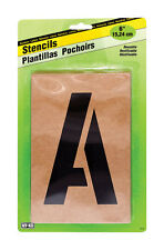 HYKO NUMBER & LETTER STENCILS 6inch Includes letters A to Z numbers 0-9