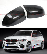 2015-2016 BMW F85 X5M F86 X6M CARBON FIBER SIDE MIRROR COVER CAPS OVERLAY PAIR