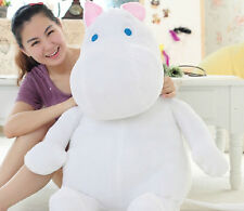 80cm /32'' New Moomin -Valley Plush Toy Hippo Doll cute And Lovely Birthday Gift