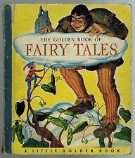 The Golden Book of Fairy Tales - Little Golden Book - 1943