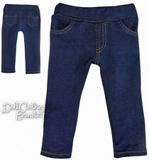 Jeggings Skinny Jeans Denim Lycra Leggings made for American Girl Doll Clothes