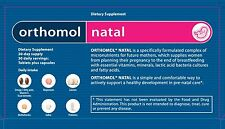 ORIGINAL ORTHOMOL® NATAL - Tablets plus Capsules - 30 day's supply