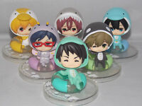 Free! Chibi Japanese Anime Swimming Figure Sets 5.5cm CHN Ver.