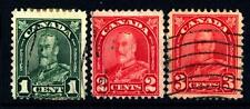 CANADA - 1930-1931 - Re Giorgio V, con foglie d'acero negli angoli superiori