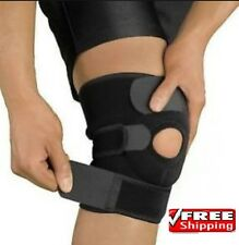 Neoprene patella black elastic knee support, brace fastener, gym sports NHS Use