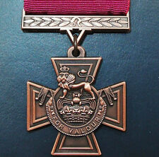 REPLICA WW1 WW2 VIETNAM IRAQ AFGHANISTAN WAR VICTORIA CROSS MEDAL V.C.