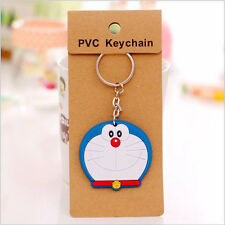 lovely Cartoon pvc soft silicone car key ring keychain NEW free shipping
