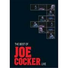 JOE COCKER BEST OF LIVE DVD ALL REGIONS PAL NEW