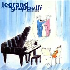 Stephane Grappelli & Michel Legrand by LeGrand/Michel Legrand/St'phane..(cd4167)
