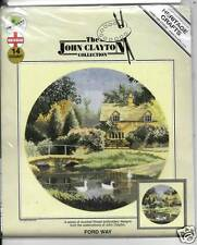 FORD WAY JOHN CLAYTON COLLECTION NEW  COUNTED  CROSS STITCH KIT