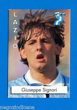 CALCIO FLASH '96 Lampo - Figurina-Sticker n. 142 - SIGNORI - LAZIO -New