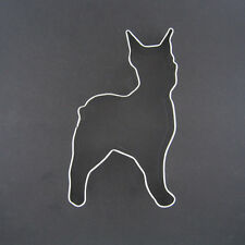 "BOXER BOSTON TERRIER DOG 4"" METAL COOKIE CUTTER DOG TREATS FAVORS STEN161CIL NEW"
