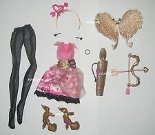 Ever After High Rebel C.A. Cupid Wave One Doll Outfit Clothes Shoes New Monster