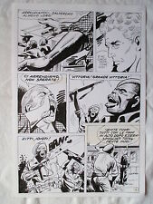 A L'ARME BLANCHE  SPECTACULAIRE PLANCHE GEANTE ELVIFRANCE  PAGE 6