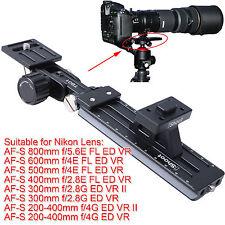 Teleobjektiv Halterung für Nikon AF-S 500mm 600mm f/4E FL ED VR Stativschelle