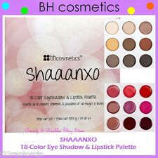 NEW BH Cosmetics SHAAANXO 18-Color Eye Shadow & Lipstick Palette FREE SHIPPING