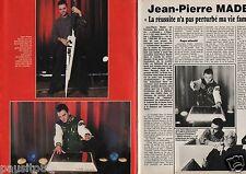 Coupure de presse Clipping 1987 Jean-Pierre Mader (2 pages)