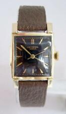 Vintage 14k GF UNIVERSAL GENEVE Mens Winding Watch Cal 231 1940s EXLNT* SERVICED