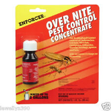 ENFORCER OVERNITE Pest Control CONCENTRATE roaches, silverfish, earwigs, ants