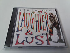 "JOE JACKSON ""LAUGHTER & LUST"" CD 13 TRACKS"