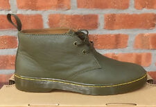DR. MARTENS CABRILLO KHAKI KAKI VIRGINIA   LEATHER  BOOTS SIZE UK 11