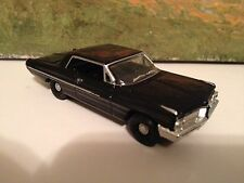 1/64 62 Pontiac Catalina SUPER DUTY in Black/Blk.Int with a 421-2-4's &4Speed