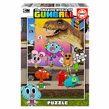 Official The Amazing World of Gumball Jigsaw Puzzle 200 Piece