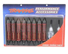Traxxas T/E-Maxx Set of 8 Big Bore Shocks W/ Springs & Oil #4962 OZ RC Models