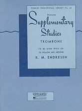 Supplementary Studies: Trombone (Rubank Educational Library)