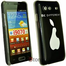 Cover Custodia Per Samsung Galaxy Advance i9070 Be Different Pera + Pellicola